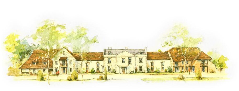 Motcombe Grange Sketch
